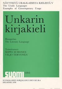 Unkarin kirjakieli - Hungarian