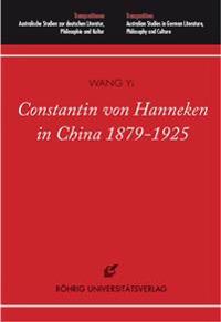 Constantin von Hanneken in China 1879-1925