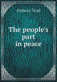 The People's Part in Peace