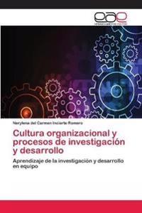 Cultura Organizacional y Procesos de Investigacion y Desarrollo