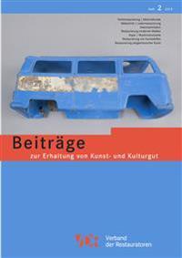Vdr-Beitrage Zur Erhaltung Von Kunst- Und Kulturgut, Heft 2/2013: Heft 2/2013