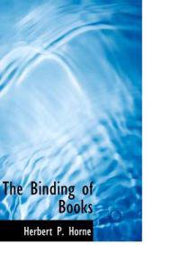 The Binding of Books