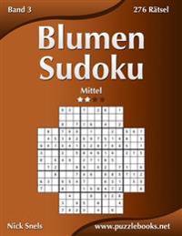 Blumen Sudoku - Mittel - Band 3 - 276 Ratsel