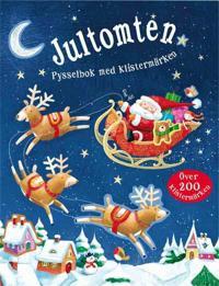 Jultomten : pysselbok med klistermärken