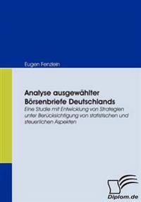 Analyse Ausgewahlter Borsenbriefe Deutschlands