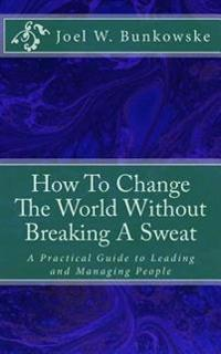 How to Change the World Without Breaking a Sweat: A Practical Guide to Leading and Managing Organizations