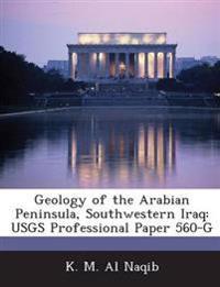 Geology of the Arabian Peninsula, Southwestern Iraq
