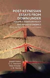Post-Keynesian Essays from Down Under Volume II: Essays on Policy and Applied Economics