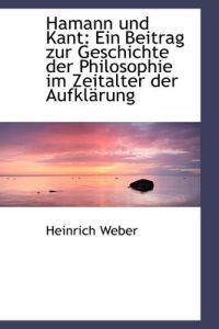 Hamann Und Kant