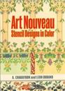 Art Nouveau Stencil Designs in Color
