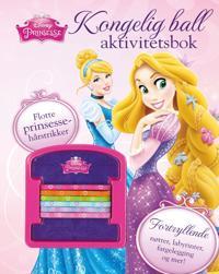 Disney Prinsesser. Kongelig ball aktivitetsbok. Med hårstrikk