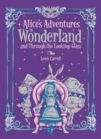 Alices adventures in wonderland and through the looking glass (barnes & nob