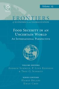 Food Security in an Uncertain World: An International Perspective
