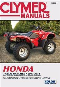 Clymer Manuals Honda TRX420 RANCHER 2007-2014