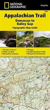 Appalachian Trail, Damascus to Bailey Gap, Virginia