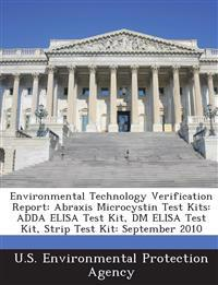 Environmental Technology Verification Report