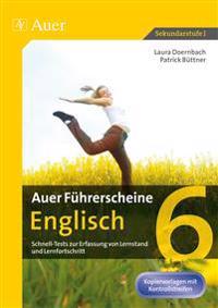 Auer Führerscheine Englisch Klasse 6