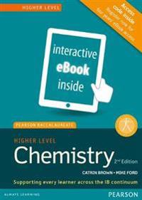 Chemistry, Higher Level, for the Ib Diploma (Etext) (Access Code Card) (Pearson Baccalaureate)