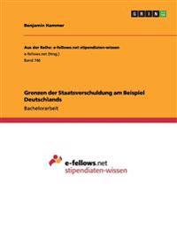 Grenzen Der Staatsverschuldung Am Beispiel Deutschlands