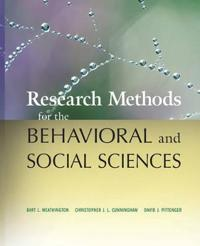 Research Methods for the Behavioral and Social Sciences