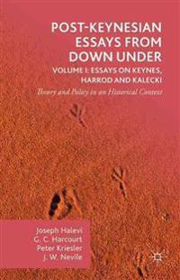 Post-Keynesian Essays from Down Under