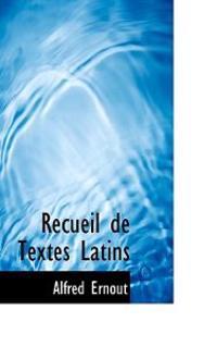 Recueil de Textes Latins