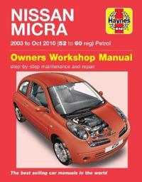 Nissan micra owners workshop manual - 03-10