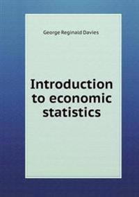 Introduction to Economic Statistics