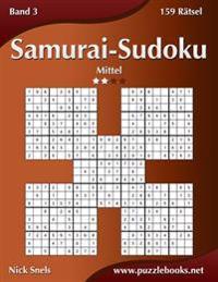 Samurai-Sudoku - Mittel - Band 3 - 159 Ratsel