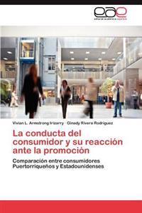La Conducta del Consumidor y Su Reaccion Ante La Promocion