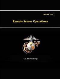 Remote Sensor Operations - Mcwp 2-15.1