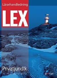 Lex Privatjuridik Lärarhandl