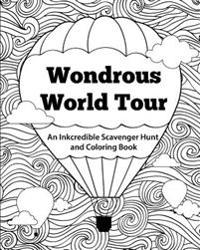 Wondrous World Tour: An Inkcredible Scavenger Hunt and Coloring Book