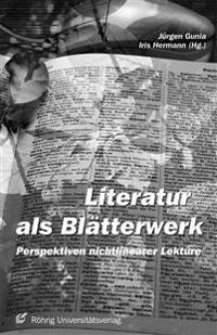 Literatur als Blätterwerk