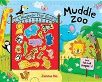 Muddle Zoo: A Magnetic Play Book [With 17 Animal Magnets]