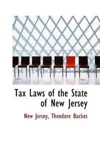 Tax Laws of the State of New Jersey