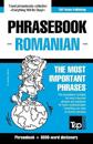 English-Romanian Phrasebook and 3000-Word Topical Vocabulary