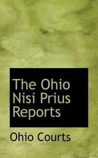 The Ohio Nisi Prius Reports