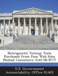 Nutrigenetic Testing