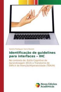 Identificacao de Guidelines Para Interfaces - Ihc