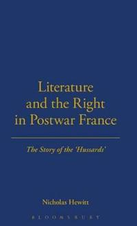Literature and the Right in Postwar France