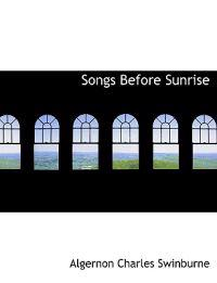 Songs Before Sunrise