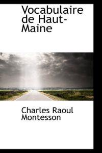 Vocabulaire de Haut-Maine