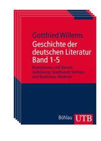 Geschichte der deutschen Literatur Band 1-5