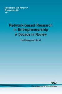 Network-based Research in Entrepreneurship