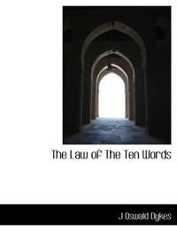 The Law of the Ten Words