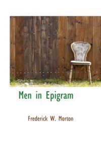 Men in Epigram