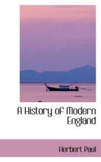 A History of Modern England