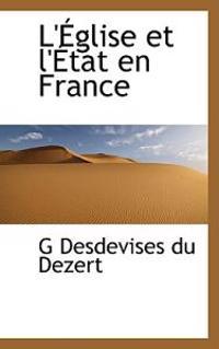 L'eglise Et L'etat En France