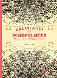 Kreativitet och mindfulness : 24 kort på inspirerande mönster att färglägga och skicka